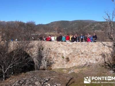 Puentes Medievales, Valle del Lozoya - Senderismo Madrid; senderos de huelva